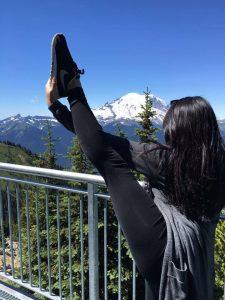 Christene Mount Rainier 1