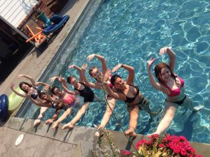 Inters in the pool