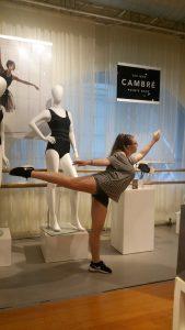 Mollie Capezio store in NYC