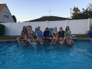 Seniors in Pool