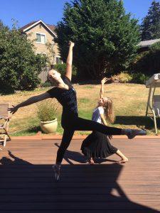 Stella and Charlotte last week of summer