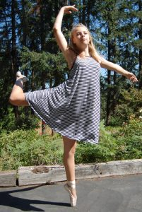Stella at farm in Oregon 13th bday